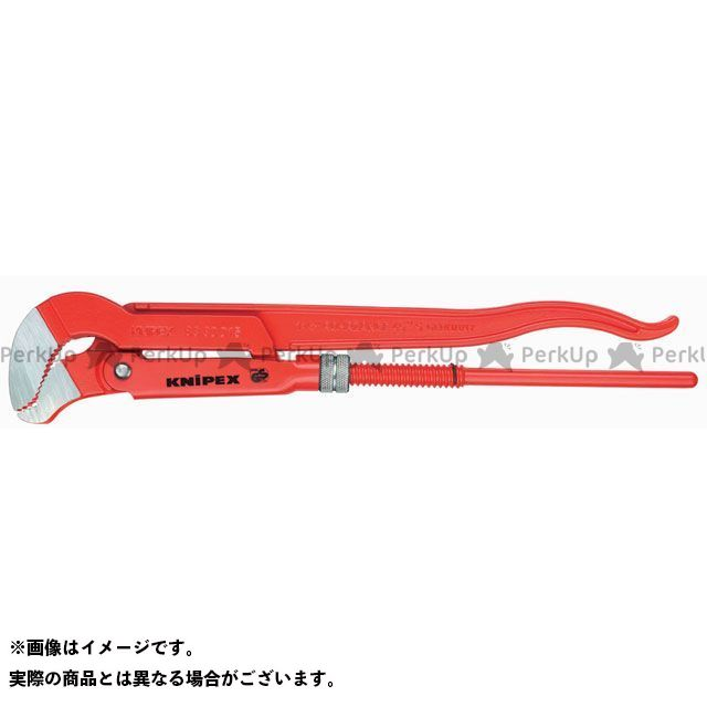 【エントリーで最大P21倍】クニペックス ハンドツール 8330-030 パイプレンチ(S型) KNIPEX