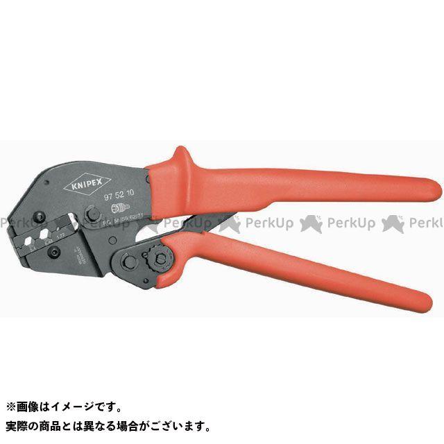 クニペックス ハンドツール 9752-10 圧着ペンチ  KNIPEX