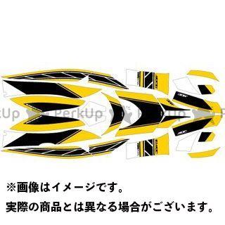 【エントリーで更にP5倍】エムディーエフ シグナスX ドレスアップ・カバー CYGNUS X125(03-06) グラフィックキット ストロボモデル パンプキンイエロータイプ モデル:コンプリートセット MDF