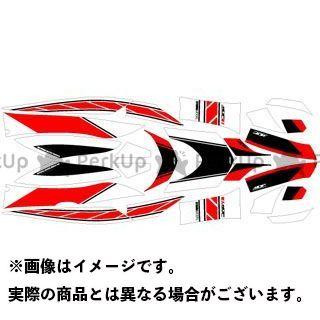 【無料雑誌付き】エムディーエフ シグナスX ドレスアップ・カバー CYGNUS X125(03-06) グラフィックキット ストロボモデル レッドタイプ モデル:コンプリートセット MDF
