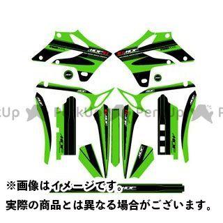 エムディーエフ Dトラッカー ドレスアップ・カバー D-TRACKER(04-07) グラフィックキット アタッカーモデル グリーンタイプ タイプ:コンプリートセット MDF