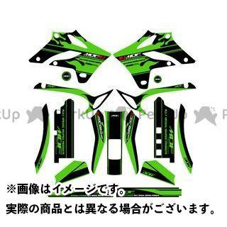 エムディーエフ KLX250 ドレスアップ・カバー KLX250(05-07) グラフィックキット ファイアーモデル グリーンタイプ タイプ:コンプリートセット MDF