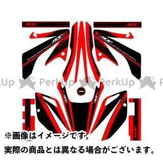 【エントリーで更にP5倍】エムディーエフ XR230 ドレスアップ・カバー XR230(08-) グラフィックキット アタッカーモデル レッドタイプ タイプ:コンプリートセット MDF