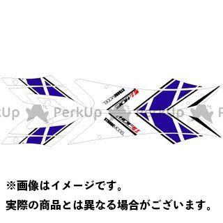【エントリーで更にP5倍】エムディーエフ YZF-R6 ドレスアップ・カバー YZF-R6(06-07) グラフィックキット ストロボモデル ブルータイプ タイプ:フロントサイドセット MDF