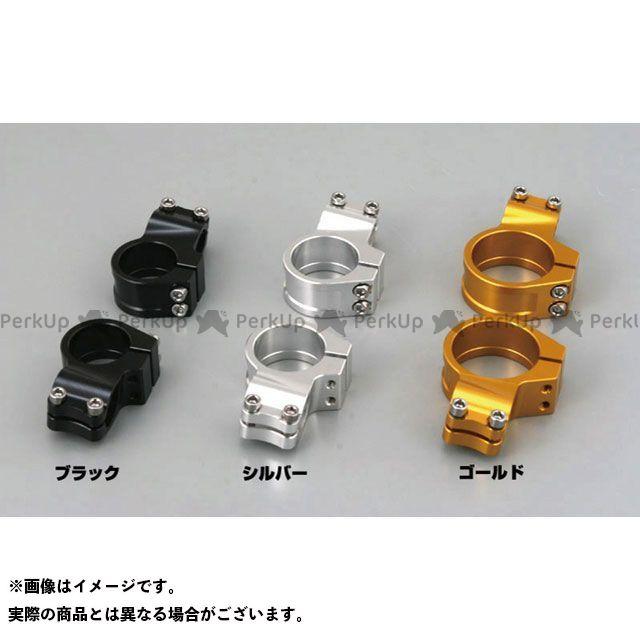 DAYTONA 汎用 ハンドル周辺パーツ クランプ左右セット φ50 カラー:ゴールド デイトナ
