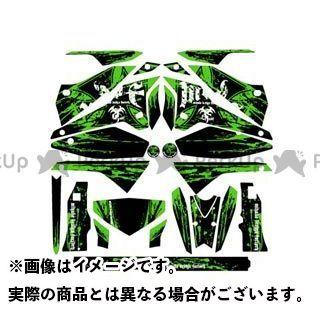 【エントリーで更にP5倍】エムディーエフ DトラッカーX ドレスアップ・カバー D-TRA X(08-) グラフィックキット ブラッディーモデル グリーンタイプ タイプ:コンプリートセット MDF