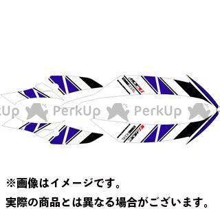 【エントリーで更にP5倍】エムディーエフ YZF-R6 ドレスアップ・カバー YZF-R6(08-16) グラフィックキット ストロボモデル 車体色:ブラック用ブルータイプ タイプ:フロントサイドセット MDF