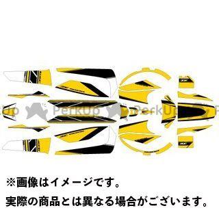 【エントリーで更にP5倍】エムディーエフ ビーウィズ ドレスアップ・カバー BW'S(12-) グラフィックキット ストロボモデル パンプキンイエロータイプ タイプ:コンプリートセット MDF