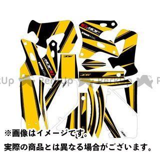 エムディーエフ RMX250S ドレスアップ・カバー RMX250S(96-) グラフィックキット アタッカーモデル パンプキンイエロータイプ タイプ:コンプリートセット MDF