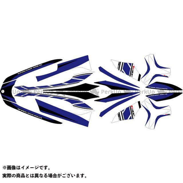 エムディーエフ トリシティ125 ドレスアップ・カバー TRICITY(14-16) グラフィックキット ストロボモデル ブルータイプ モデル:コンプリートセット MDF