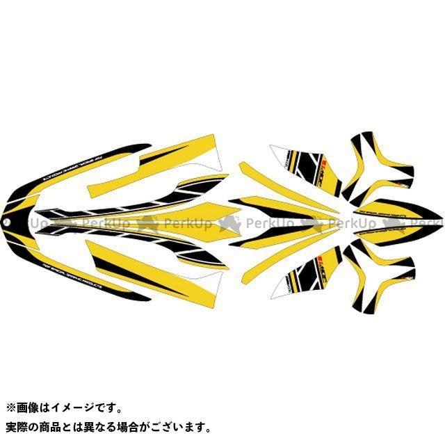 エムディーエフ トリシティ125 ドレスアップ・カバー TRICITY(14-16) グラフィックキット ストロボモデル パンプキンイエロータイプ モデル:コンプリートセット MDF