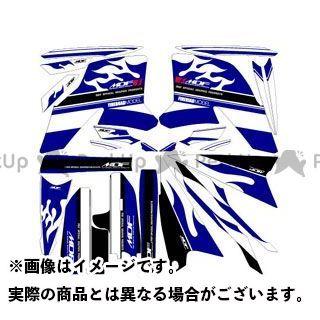 【無料雑誌付き】エムディーエフ WR250R ドレスアップ・カバー WR250R(08-) グラフィックキット ファイアーモデル ブルータイプ タイプ:コンプリートセット MDF