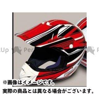 エムディーエフ ヘルメットアクセサリー ヘルメットグラフィック アタッカーモデル カラー:レッド MDF