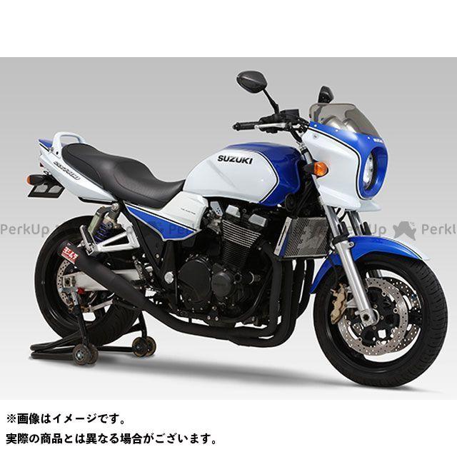 YOSHIMURA GSX1400 マフラー本体 機械曲げストレートサイクロン SB(ステンレスブラック塗装) ヨシムラ