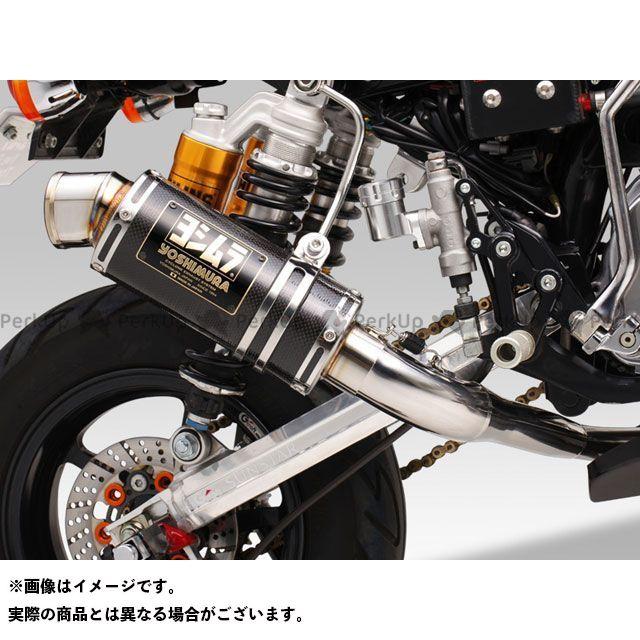 YOSHIMURA モンキー マフラー本体 レーシングサイクロン GP-MAGNUM(ステンレス) サイレンサー:STB(チタンブルーカバー) ヨシムラ