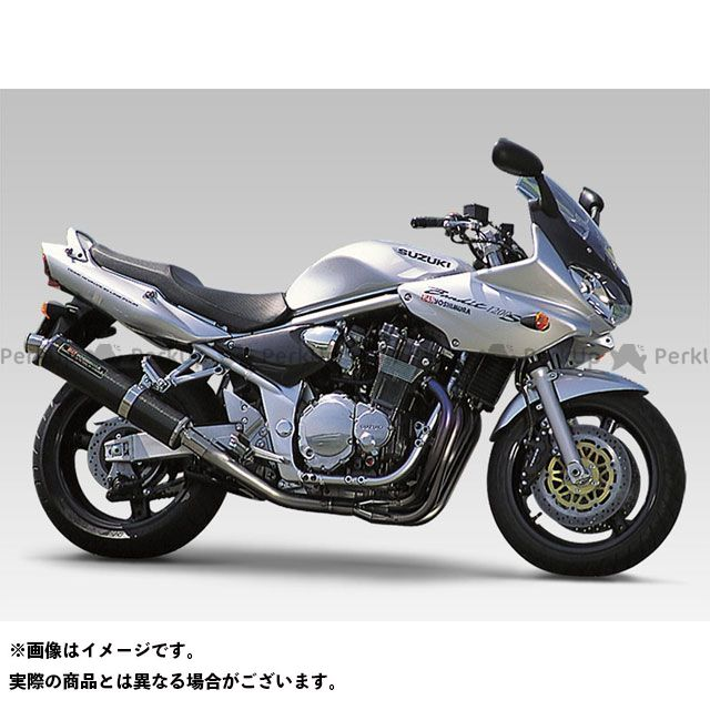 YOSHIMURA バンディット1200 マフラー本体 機械曲チタンサイクロン TS/FIRESPEC(ステンレスカバー) ヨシムラ