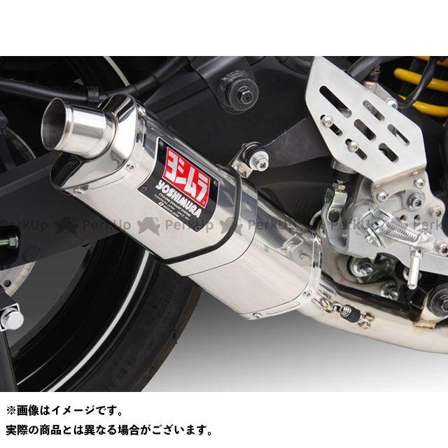 YOSHIMURA YZF-R15 マフラー本体 Tri-Ovalサイクロン EXPORT SPEC サイレンサー:ST(チタンカバー) ヨシムラ