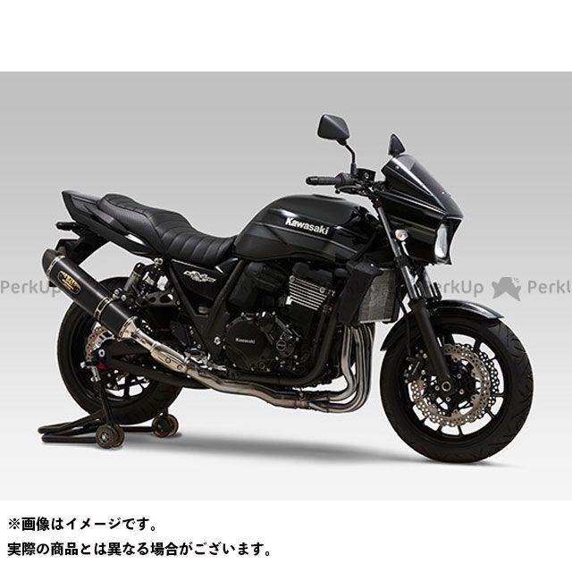 送料無料 YOSHIMURA ZRX1200ダエグ マフラー本体 Slip-On R-77S サイクロン LEPTOS 政府認証 SSC(ステンレスカバー/カーボンエンドタイプ)