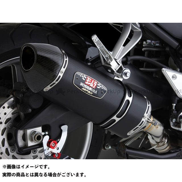 YOSHIMURA FZ1(FZ1-N) FZ1フェザー(FZ-1S) マフラー本体 Slip-On R-77J サイクロン EXPORT SPEC サイレンサー:STBS(チタンブルーカバー/ステンレスエンドタイプ) ヨシムラ