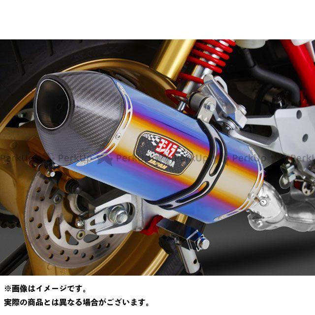 YOSHIMURA CB400スーパーボルドール CB400スーパーフォア(CB400SF) マフラー本体 Slip-On R-77J サイクロン EXPORT SPEC サイレンサー:STBC(チタンブルーカバー/カーボンエンドタイプ) ヨシムラ