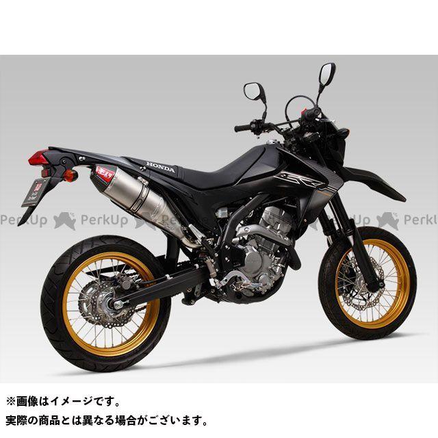 YOSHIMURA CRF250L CRF250M マフラー本体 Slip-On RS-4J サイクロン カーボンエンド EXPORT SPEC サイレンサー:ST(チタンカバー) ヨシムラ