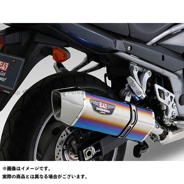 YOSHIMURA バンディット1250 バンディット1250F バンディット1250S マフラー本体 Slip-On HEPTA FORCE サイクロン EXPORT SPEC 政府認証 サイレンサー:STBS(チタンブルーカバー/ステンレスエンドタ…