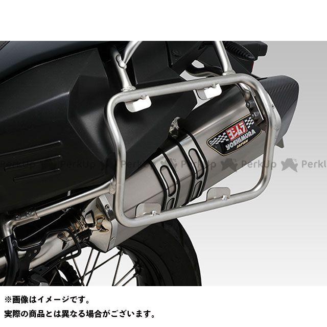 YOSHIMURA F800GS F800GSアドベンチャー マフラー本体 Slip-On HEPTA FORCE サイクロン EXPORT SPEC 政府認証 サイレンサー:SSC(ステンレスカバー/カーボンエンドタイプ) ヨシムラ