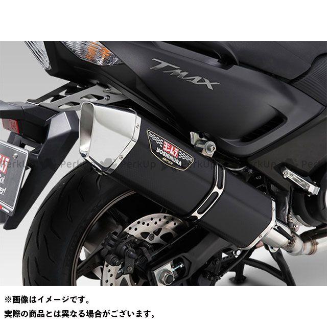 送料無料 YOSHIMURA TMAX530 マフラー本体 機械曲HEPTA FORCE サイクロン EXPORT SPEC 政府認証 STS(チタンカバー/ステンレスエンドタイプ)
