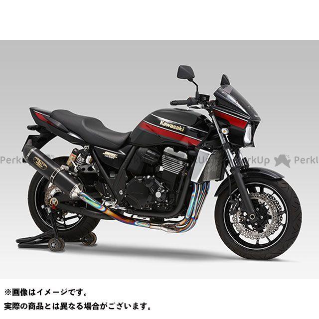 YOSHIMURA ZRX1200ダエグ ZRX1200R ZRX1200S マフラー本体 機械曲R-77S チタンサイクロン LEPTOS 政府認証 サイレンサー:TTBC(チタンブルーカバー/カーボンエンドタイプ) ヨシムラ
