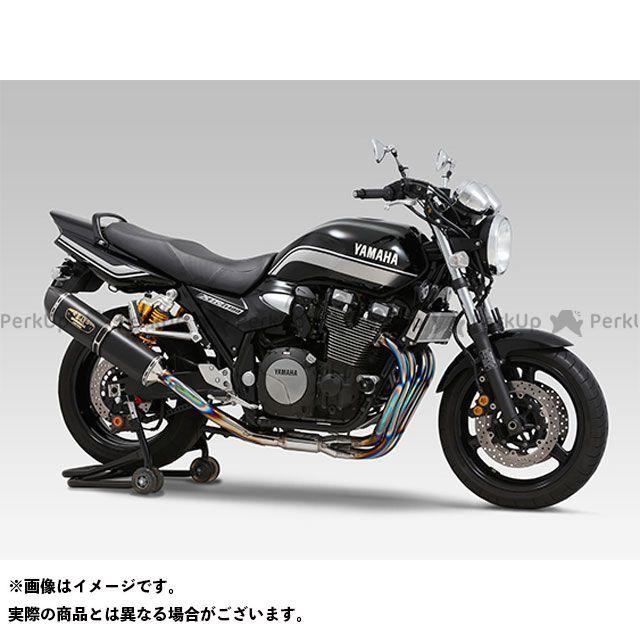 YOSHIMURA XJR1300 マフラー本体 機械曲R-77S チタンサイクロン LEPTOS 政府認証 サイレンサー:TSC(ステンレスカバー/カーボンエンドタイプ) ヨシムラ