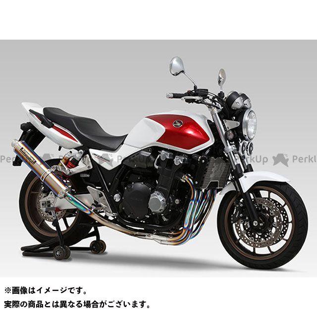 YOSHIMURA CB1300スーパーボルドール CB1300スーパーフォア(CB1300SF) マフラー本体 機械曲チタンサイクロン LEPTOS 政府認証 サイレンサー:TS(ステンレスカバー) ヨシムラ