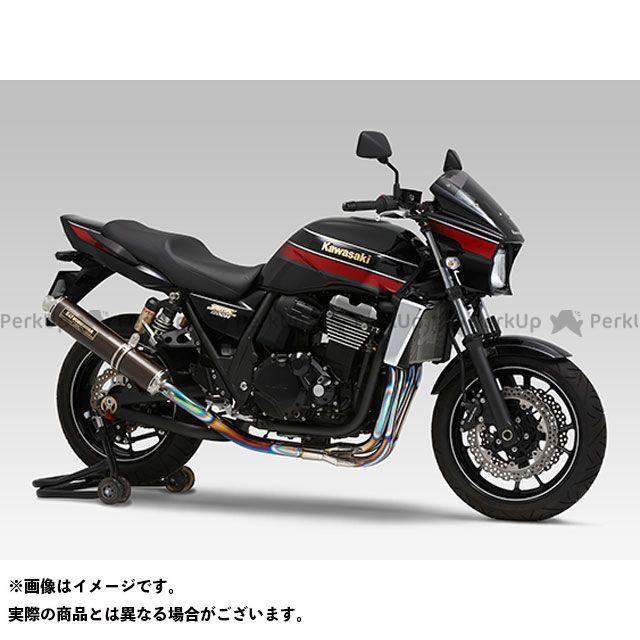 YOSHIMURA ZRX1200ダエグ ZRX1200R ZRX1200S マフラー本体 機械曲チタンサイクロン LEPTOS 政府認証 サイレンサー:TTB/FIRE SPEC(チタンブルーカバー) ヨシムラ
