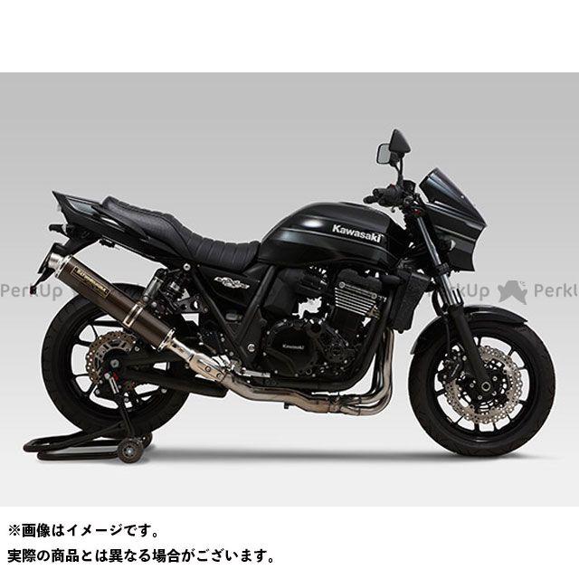 YOSHIMURA ZRX1200ダエグ マフラー本体 Slip-On サイクロン LEPTOS 政府認証 サイレンサー:STB(チタンブルーカバー) ヨシムラ