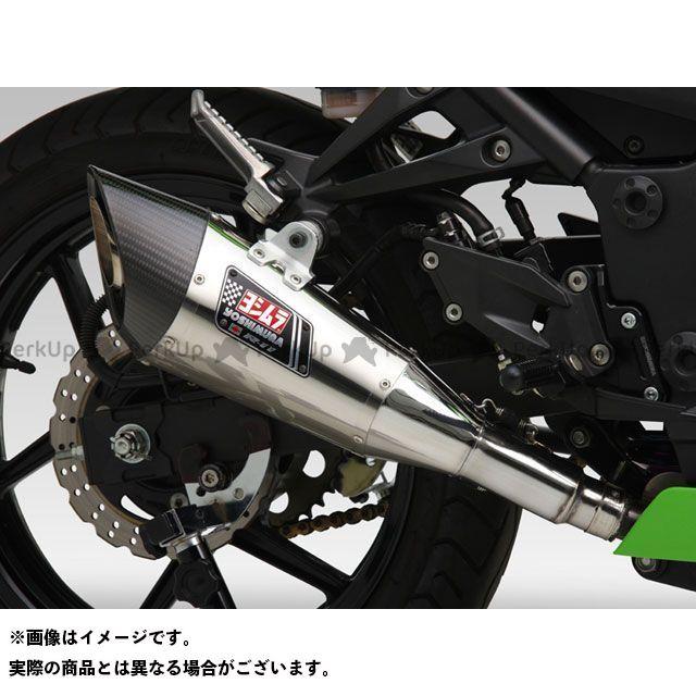 送料無料 ヨシムラ ニンジャ250R マフラー本体 Slip-On R-11 サイクロン 1エンド EXPORT SPEC STB(チタンブルーカバー)