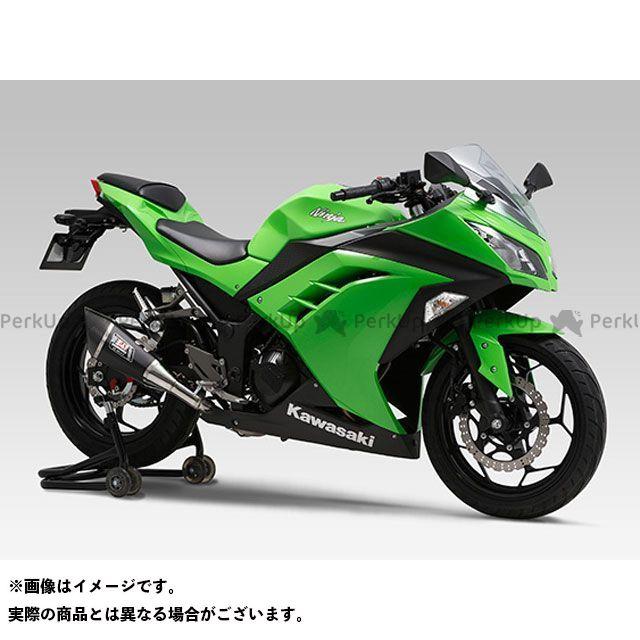 YOSHIMURA ニンジャ250 Z250 マフラー本体 Slip-On R-11 サイクロン 1エンド EXPORT SPEC 政府認証 ST(チタンカバー) ヨシムラ