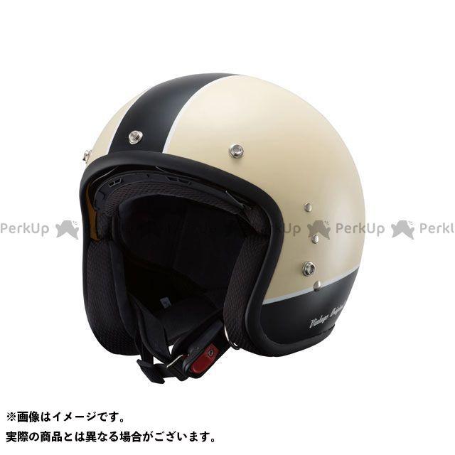 送料無料 OWL アウル ジェットヘルメット ハイブリッドヘルメット ジェットモデル ビンテージアイボリー