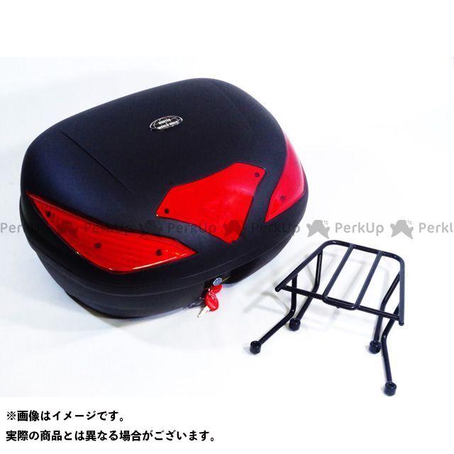 【特価品】WW シグナスX ツーリング用ボックス シグナスX用 リアキャリア リアボックスセット 容量:43リッター ワールドウォーク