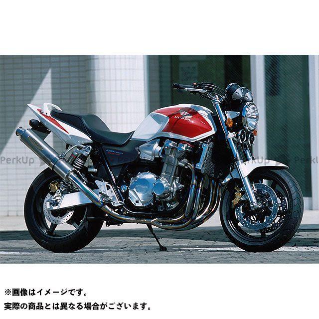 STRIKER CB1300スーパーボルドール CB1300スーパーフォア(CB1300SF) マフラー本体 SUPER STRIKER TITAN チタンフルエキゾースト サイレンサー:チタン ストライカー