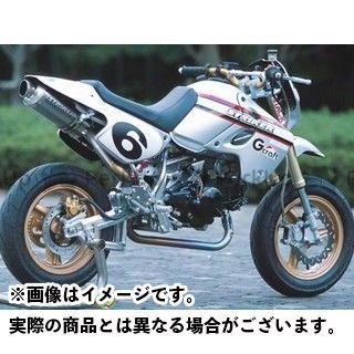 STRIKER KSR110 マフラー本体 POWER MINIキャノンタイプマフラーB(レーシング/センターUP1本出し) ストライカー