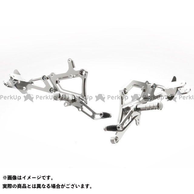 【無料雑誌付き】STRIKER ゼファー750 バックステップ関連パーツ スペシャルステップキット タイプ2 カラー:シルバー ストライカー