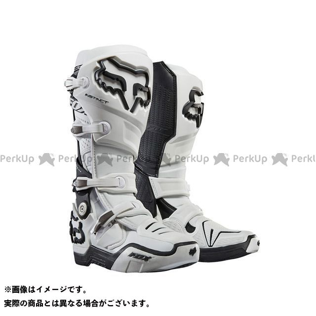 フォックス オフロードブーツ インスティンクト 2.0 ブーツ カラー:ホワイト サイズ:8/26.0cm FOX