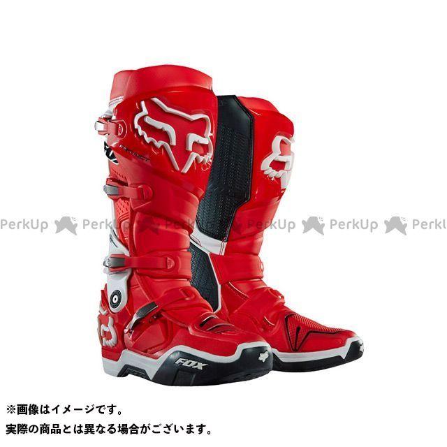 フォックス オフロードブーツ インスティンクト 2.0 ブーツ カラー:レッド/ホワイト サイズ:8/26.0cm FOX