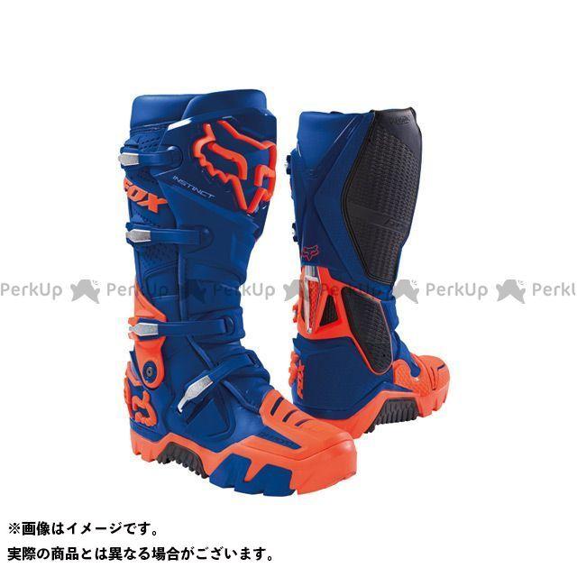 フォックス オフロードブーツ インスティンクト オフロード ブーツ カラー:ブルー サイズ:8/26.0cm FOX
