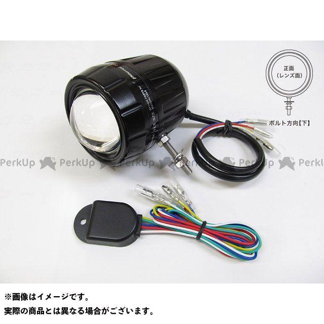 【無料雑誌付き】PROTEC 汎用 ヘッドライト・バルブ FLT-322 LEDフォグライト(REVセンサー付 親機) ボルト方向:上 プロテック