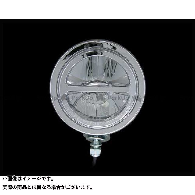 【エントリーで最大P21倍】ネオファク ハーレー汎用 ホーン・電飾・オーディオ 4-1/2in LEDスポットランプ クローム ネオファクトリー