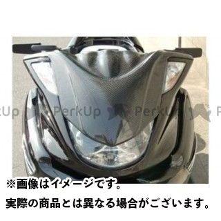 MOTO SERVICE MAC マジェスティ カウル・エアロ フロントチョップフェイス カーボン マジェスティ(5連メーター) モトサービスマック
