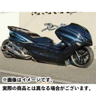 【エントリーで最大P21倍】MOTO SERVICE MAC マジェスティ シート関連パーツ ZERO FRPシート(白ゲル) マジェスティ モトサービスマック