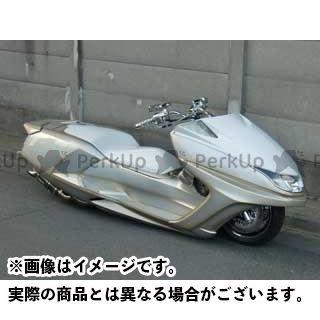 MOTO SERVICE MAC マグザム シート関連パーツ ZERO FRPシート(白ゲル) マグザム モトサービスマック