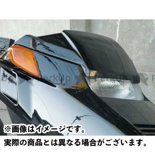 MOTO SERVICE MAC フュージョン カウル・エアロ ZERO フロントチョップフェイス(白ゲル) フュージョン モトサービスマック