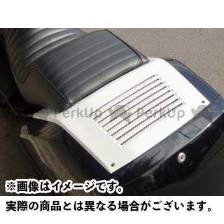 MOTO SERVICE MAC フュージョン カウル・エアロ ZERO トランクチョップカバー(白ゲル) フュージョン モトサービスマック
